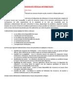 SUPERVISION DES RÉSEAUX INFORMATIQUES