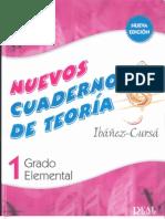 Nuevos Cuadernos de Teoria 1e