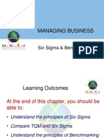 Chapter8SixSigma&Benchmarking