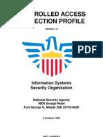 Control Acceso Proteccion Profile