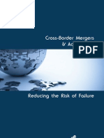 Cross Border Mergers Acquisitions Reducing the Risk of Failure