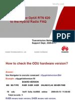RTN MW R3 Version Upgrading FAQ