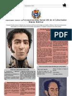 A Fiche Simon Bolivar