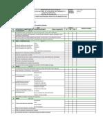 Check List BPM Ministerio de Salud