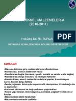 ELEKTRİK MALZEMELERİ (Nil TOPLAN)
