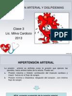 Clase 3-HIPERTENSIÓN ARTERIAL Y DISLPIDEMIAS