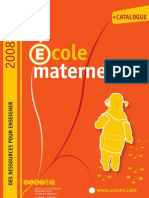 Catalogue Maternelle
