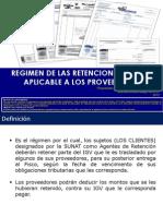 2 - Regimen de Retenciones Del IGV Aplicable a Los Proveedores