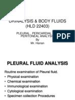 URINALYSIS & BODY FLUIds Pericardial Analysis. (2)