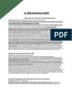 HSR Inherency