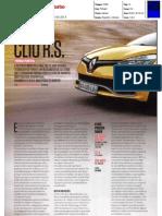 "NOVO RENAULT CLIO R.S. 200 EDC NA ""TURBO"""