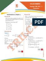 Solucionario UNI 2013-I Matemática