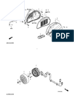 Honda PCX parts
