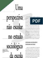 sociologia da educação sposito