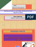 Prsentation Ubuntu Linux