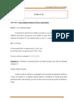 ATPS Mecânica Geral (2ª 3ª 4ª 5ª etapa)