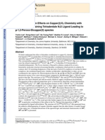 Sulfur Donor Atom Effects on Copper(I)/O2 Chemistry with Thioanisole Containing Tetradentate N3S Ligand Leading to μ-1,2-Peroxo-Dicopper(II) species