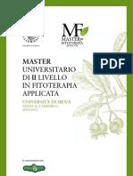 MasterFitoterapia 2011-2012