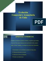 Evolucion Comercio Internacional en Chile