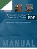 EVALUACIÓN ECONÓMICA DE PROYECTOS DE TRANSPORTE