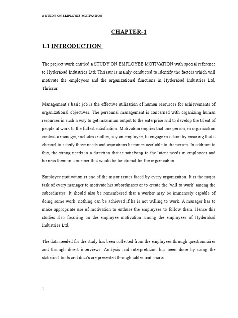a project on employee motivation by shahid kv chavakkad  a project on employee motivation by shahid kv chavakkad asbestos motivation