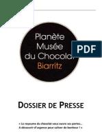 Muzeul Ciocolatei Dossier de Presse