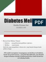 Diabetes Mellitus - Tutorial