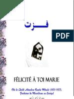 Fuzti Felicite a Toi Marie