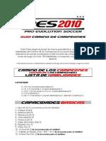 Gu■a Pes 2010 Wii (Camino de Campeones)