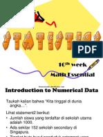 Statistik Dasar Pada Pelajaran Matematika Dasar