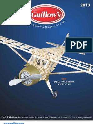Guillows 702LC Arrow Laser Cut Balsa Model Aircraft Kit