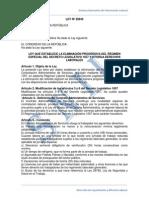 Ley 29849. Eliminacion Progresiva Del Cas