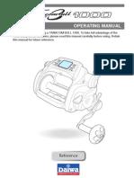 Daiwa Tanacom Bull 1000 Operating Manual