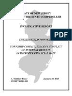 Investigative Report Chesterfield 01-29-13
