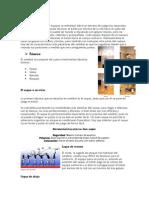 Ensayo sobre Tecnicas del Voleibol y Baquet