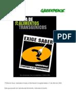 Guia de Alimentos Transgénicos
