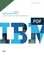 Ibm-1053-A Mobile Application Development Primer