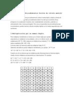 6911241 CALCULO RAPIDO Procedimientos Faciles de Calculo Mental