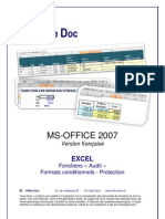 Excel 2007 FR Fonctions Audit Protection