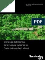 Informe sobre indígenas no contactados (Español)