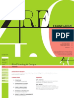 Site Planning & Design Exam Guide - Architecture exam - NCARB
