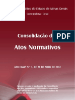 Atos Normativos MPMG 2012