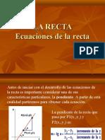 Presentacion La Recta