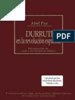 Paz, Abel - Durruti en la Revolucion Española