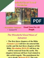 Lesson 4 Revelation Seminars -Good News for All People