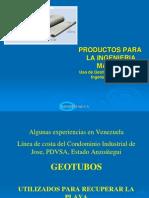 Obras Con Geotubos en Venezuela