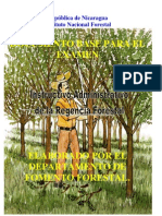 Instructivo Administrativo de La Regencia Forestal