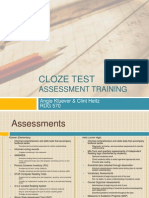 Cloze Test PowerPoint
