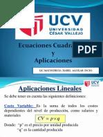 Ecuaciones Lineal y Cuadratics.