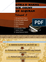 Matematika & Makna Quick Count Dalam Alquran 2pptx